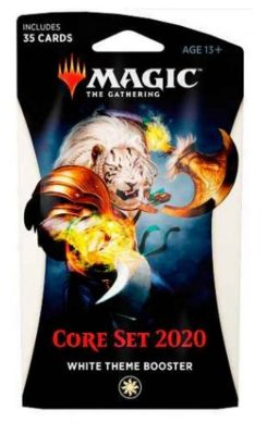 MAGIC THE GATHERING BOOSTER ESPECIAL CORE SET 2020 TEMA BRANCO EM INGLÊS