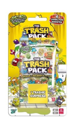 TRASH PACK CAIXA COM 12 BOOSTERS + 12 MINIATURAS SPLASH DE PRIVADA PORTUGUÊS