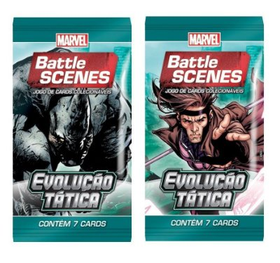 BATTLE SCENES EVOLUÇÃO TÁTICA 2 BOOSTER 14 CARTAS NO TOTAL