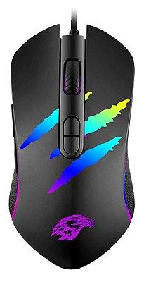 MOUSE GAMER K-MEX MO-YA37 3200 DPI 07 BOTÕES LED RGB