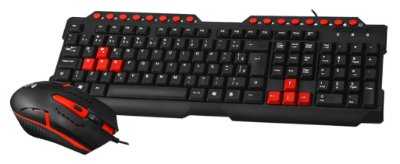 KIT TECLADO E MOUSE GAMER USB C3TECH GK-20BK PC E NOTE