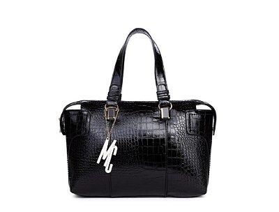 Bolsa Macadâmia - MCJ02022-01D - Black