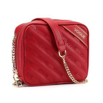 Bolsa Vogue Corrente - VG19510 - Bordô