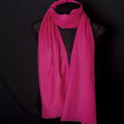 Pashmina 100% Cashmere Pink