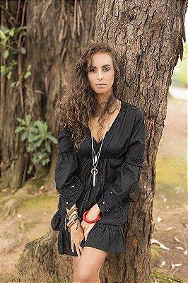 Bata Mini Vestido 100% Algodão Lakshmi (2 Variações de Cor)