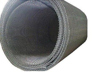 Tela de Aço Inox Malha 16 FIO 32 x 1,20m Largura (Valor por Metro Linear)