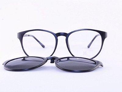 Óculos de Grau Clip-On Jaques Vernier - Preto