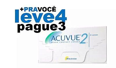 Combo 4 caixas Acuvue 2 Hipermetropia (+)