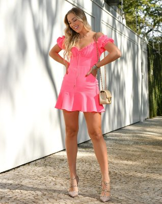 Vestido pink - cloude