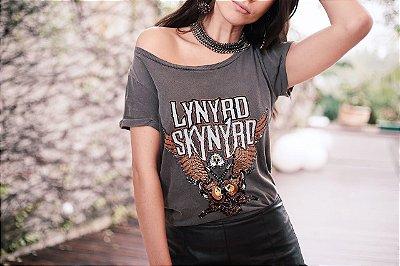Blusa T-Shirt Cinza Felicia - LeBlog