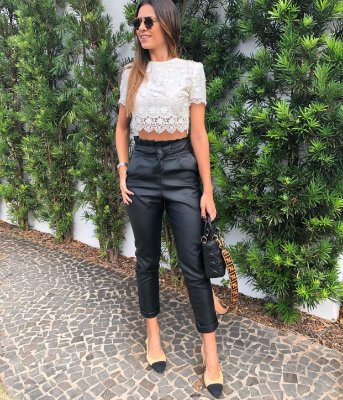Cropped Off White Kalina - Cloude