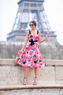 Vestido Midi Floral - Cloude