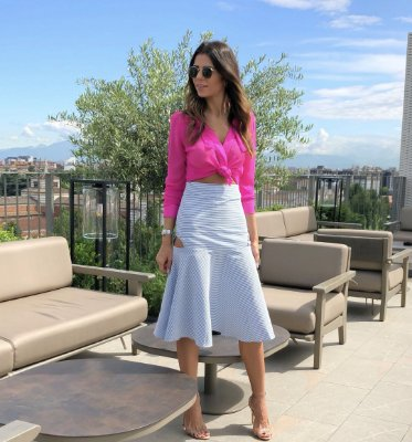 Camisa Pink Fani - Cloude
