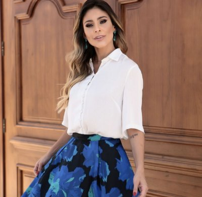 Camisa Elizabete - Luzia Fazzoli