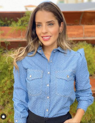 Camisa jeans - Cloude