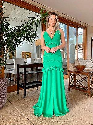 Vestido Longo Verde - Cloude
