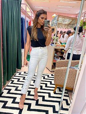 calça jeans off white - cloude