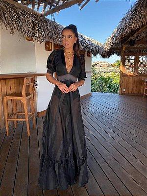 Vestido Preto Ana Júlia - Carol