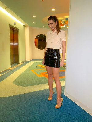 Camisa cropped nude - cloude