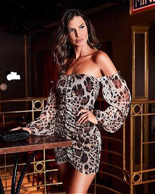Vestido de Onça Antonia - Desnude