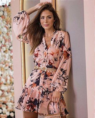 Vestido Estampado floral Poema