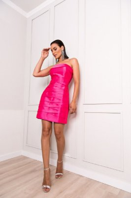 Vestido pink - desnude