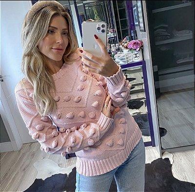 Blusa trico nozinhos