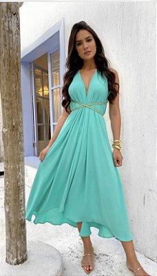 Vestido azul - carol dias