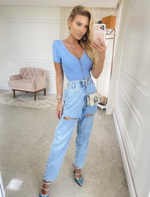 Calça jeans blend