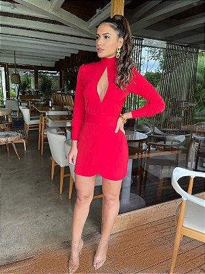 Vestido vermelho daiane - carol dias