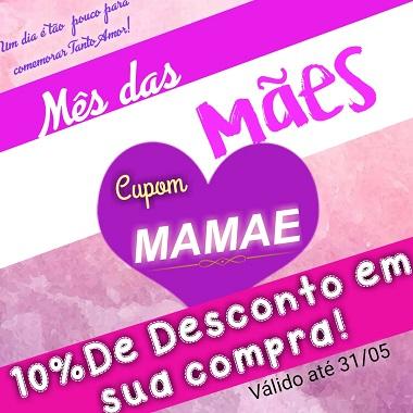 Banner Descontos mes das Mães