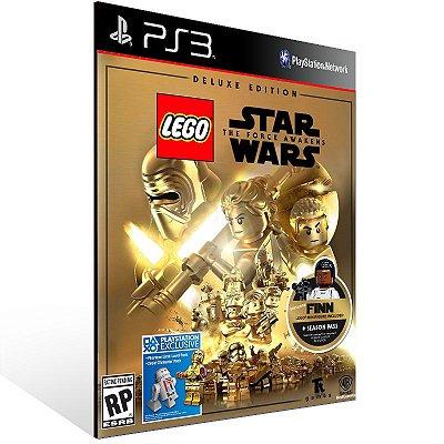 Lego Star Wars: The Force Awakens Deluxe Edition - Ps3 Psn Mídia Digital