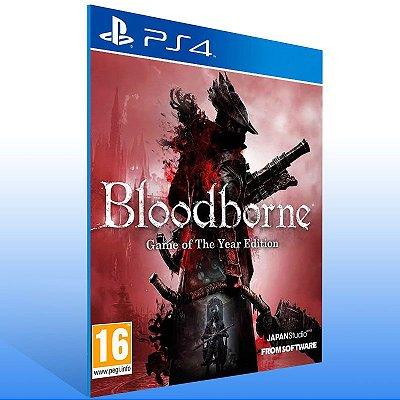 Bloodborne Complete Edition Bundle - Ps4 Psn Mídia Digital