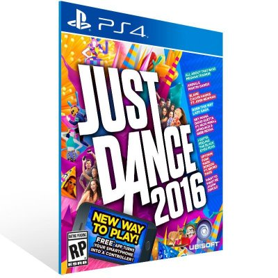 Just Dance 2016 - Ps4 Psn Mídia Digital