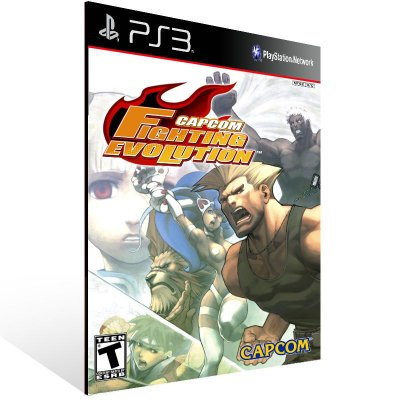 Capcom Fighting Evolution - Ps3 Psn Mídia Digital