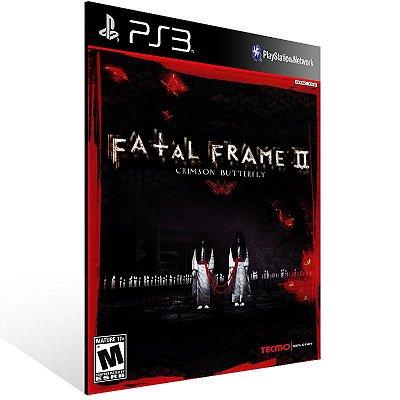 Fatal Frame 2: Crimson Butterfly - Ps3 Psn Mídia Digital
