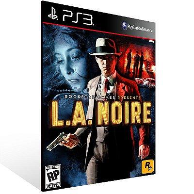 L.A. Noire - Ps3 Psn Mídia Digital