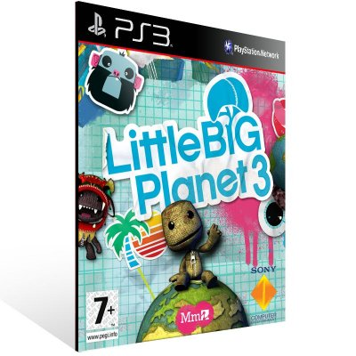 Littlebigplanet 3 - Ps3 Psn Mídia Digital