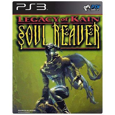 Legacy of Kain: Soul Reaver PS3 - Mídia Digital