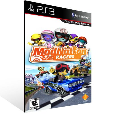 Modnation Racers - Ps3 Psn Mídia Digital