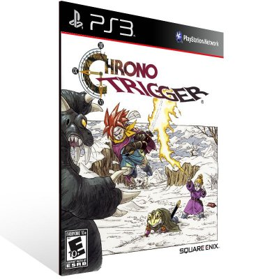 Chrono Trigger - Ps3 Psn Mídia Digital