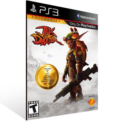 Jak And Daxter Collection - Ps3 Psn Mídia Digital