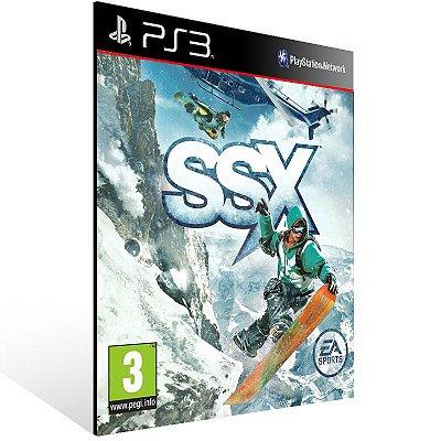Ssx - Ps3 Psn Mídia Digital