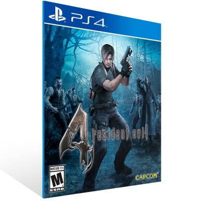 Resident Evil 4 - Ps4 Psn Mídia Digital