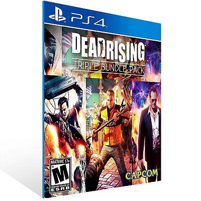 Dead Rising Triple Pack - Ps4 Psn Mídia Digital