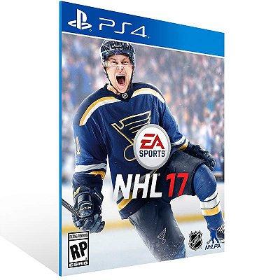 NHL 17 - Ps4 Psn Mídia Digital