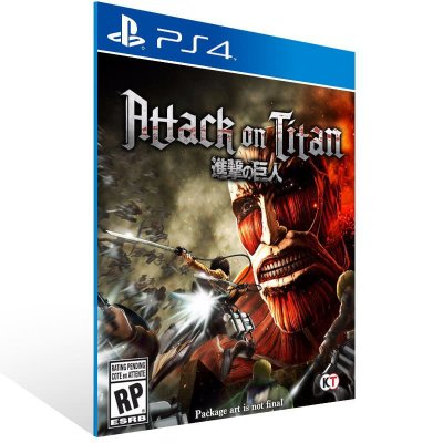 Attack On Titan - Ps4 Psn Mídia Digital