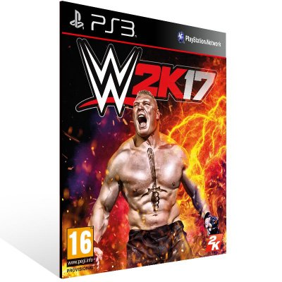 WWE 2K17 - Ps3 Psn Mídia Digital