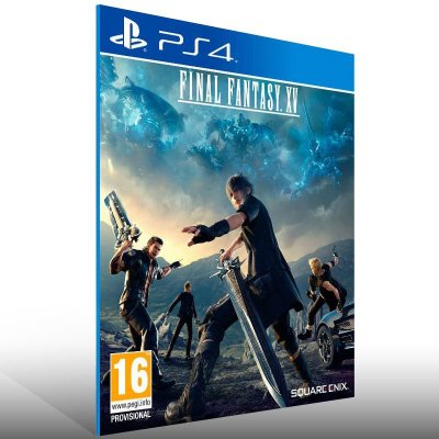 Final Fantasy XV - Ps4 Psn Mídia Digital