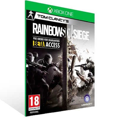 Tom Clancy Rainbow Six Siege - Xbox One Live Mídia Digital